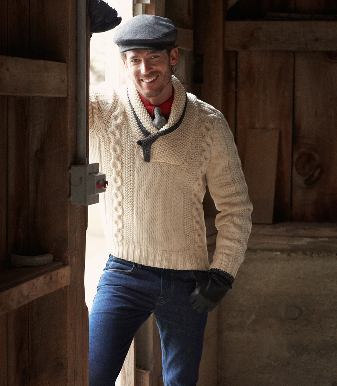 Best Men S Wool Fisherman Pullover Sweater Made In Usa