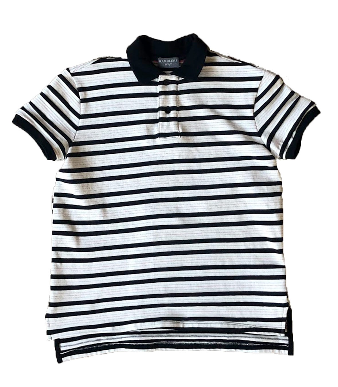 Cotton Jersey Knit Polo SS Made in USA | RAMBLERS WAY