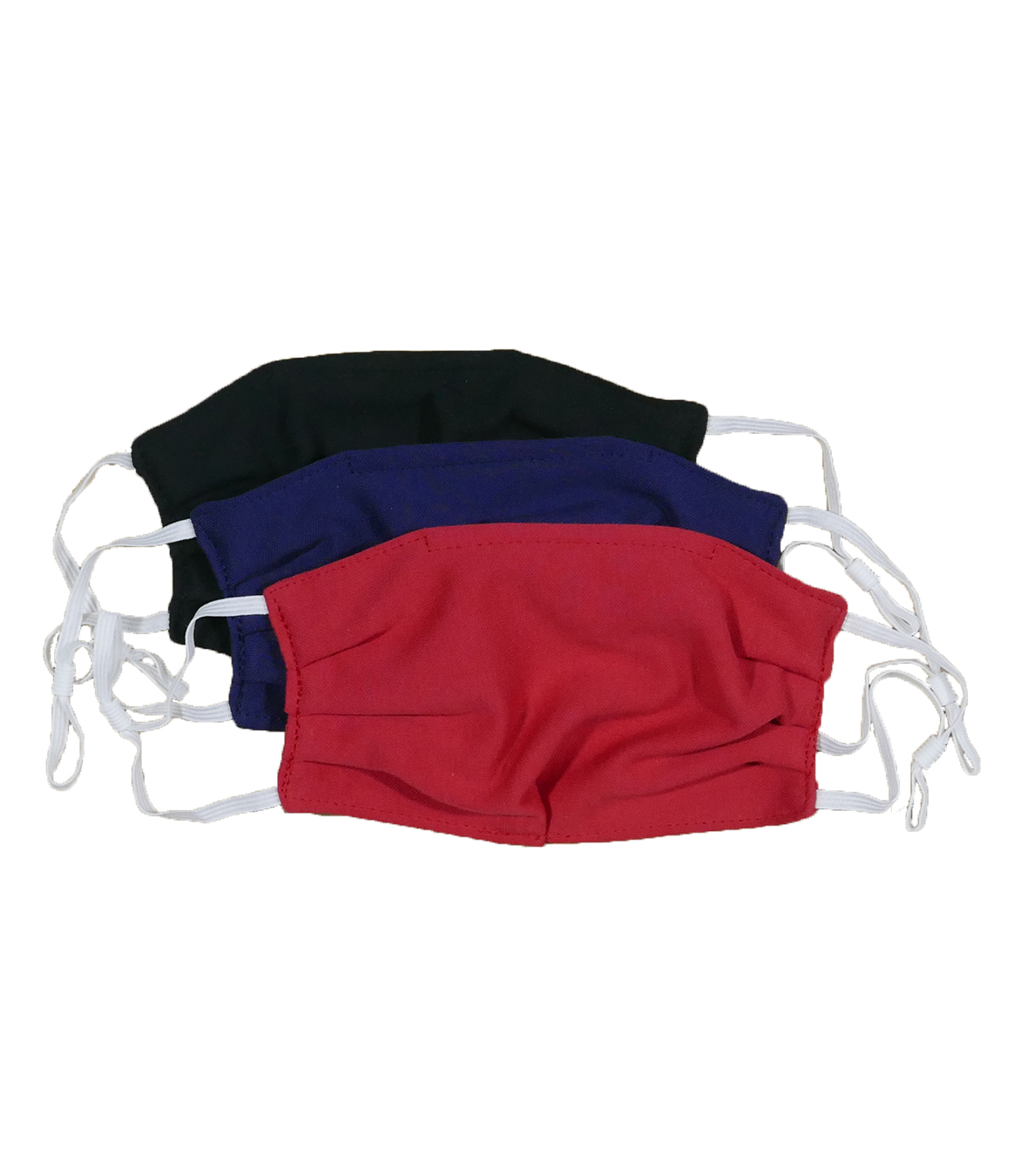 Cotton Pique Face Masks - 4 Pack Made in USA | RAMBLERS WAY
