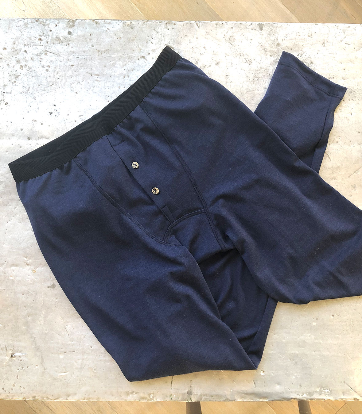 Wool Long John's Made in USA | RAMBLERS WAY