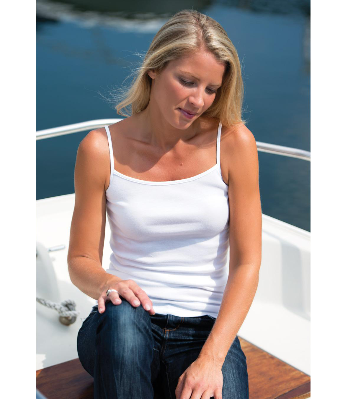 Cotton Camisole Made in USA | Ramblers Way