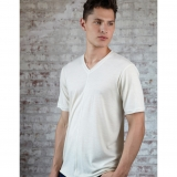 Wool Old Town Tee - Short Sleeve 4 oz. Made in USA | Ramblers Way