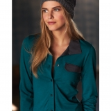 Wool Button Front with Pocket - FINAL SALE Made in USA | Ramblers Way
