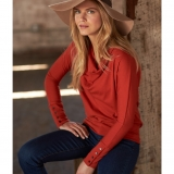 Wool Cowl Neck Dolman - Final Sale Made in USA | Ramblers Way