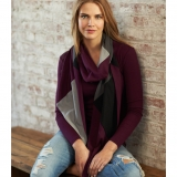 Wool Multicolor Jersey Scarf Made in USA | RAMBLERS WAY