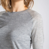 Wool Raglan Tee Made in USA | Ramblers Way