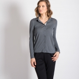 Wool Sylvie Swing Blouse Made in USA | Ramblers Way