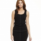 Wool 2 Ply Scoop Neck Tank Top - FINAL SALE Made in USA   RAMBLERS WAY