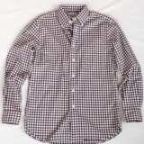 Borrelli Cotton Button Down Shirt Made in USA | RAMBLERS WAY