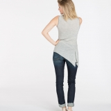 Wool Asymmetrical Tank Made in USA | Ramblers Way