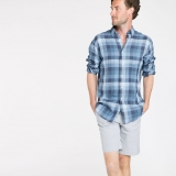 Men's Linen Garda Shorts Made in USA | Ramblers Way