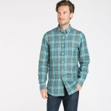 James Linen Button Down Made in USA | Ramblers Way