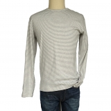 Organic Cotton Crew Neck LS Made in USA | Ramblers Way