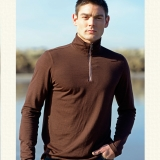 Wool Quarter Zip Pullover - FINAL SALE Made in USA | Ramblers Way