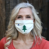 Maine Flag Face Mask Made in USA | RAMBLERS WAY