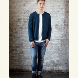 Wool Spencer Cardigan  Made in USA | Ramblers Way