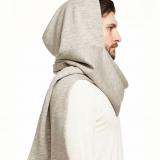 Wool Hood Scarf Made in USA | Ramblers Way