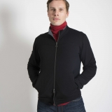 French Terry Full Zip Wool Jacket Made in USA | Ramblers Way
