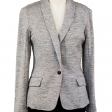 Wool French Terry Madeline Jacket Made in USA   RAMBLERS WAY