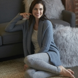 Tuck Stitch Cardigan Made in USA | Ramblers Way