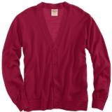 Wool V-Neck Cardigan Sweater - FINAL SALE Made in USA | Ramblers Way