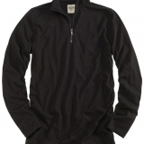 Cotton Quarter Zip Pullover - Long Sleeve Made in USA | Ramblers Way