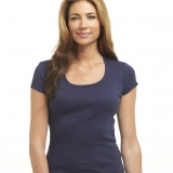 Cotton Scoop Neck Made in USA | Ramblers Way