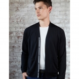 Wool Milton Cardigan - Long Sleeve Made in USA | Ramblers Way