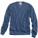 Wool V-Neck Sweater - FINAL SALE Made in USA | Ramblers Way