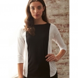 Cotton Color Block Boat Neck - FINAL SALE Made in USA | Ramblers Way