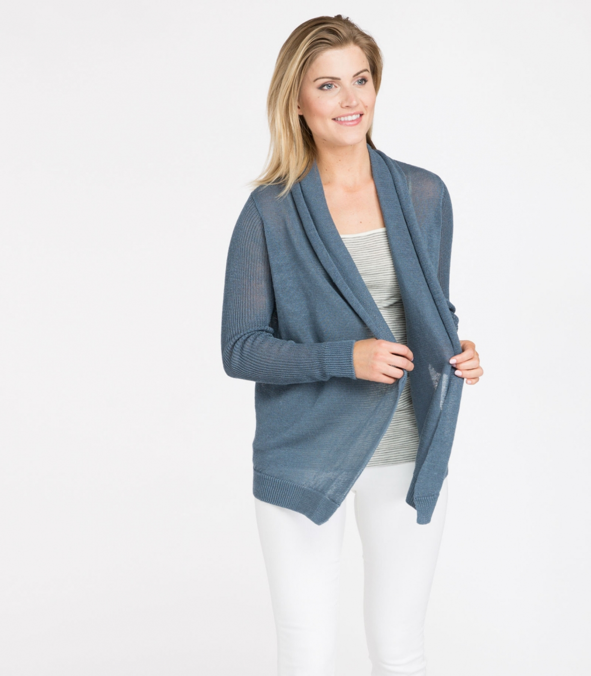 Best Linen Wrap Cardigan Made in USA  46f052240