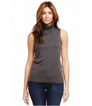 Wool Sleeveless Turtle Neck Made in USA | Ramblers Way