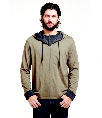 Wool Hamlin Hoodie Made in USA | Ramblers Way