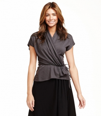 Wool Peplum Top - FINAL SALE Made in USA | Ramblers Way