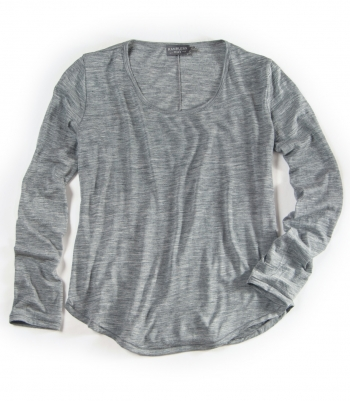 Wool Scoop Neck Made in USA   Ramblers Way