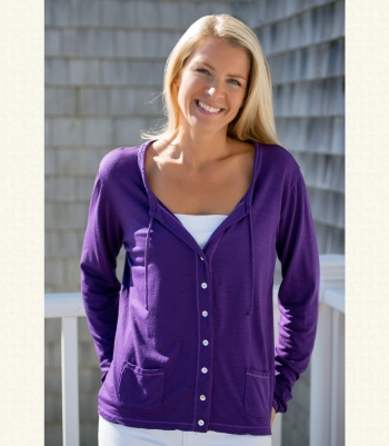 Wool Drawstring Cardigan - FINAL SALE Made in USA | Ramblers Way