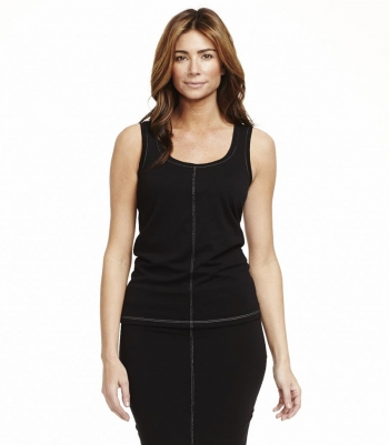 Wool 2 Ply Scoop Neck Tank Top - FINAL SALE Made in USA | RAMBLERS WAY