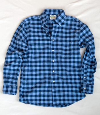 Borrelli Cotton Button Down Made in USA | Ramblers Way