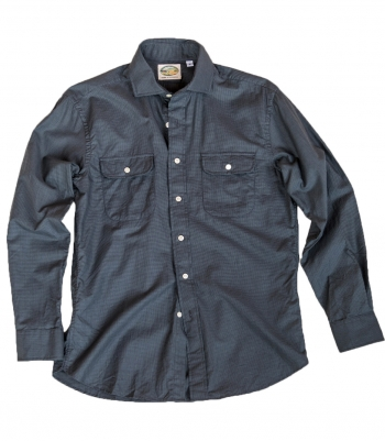 Lowell Fitted Cotton 2 Pocket W/Flap Shirt Made in USA | Ramblers Way