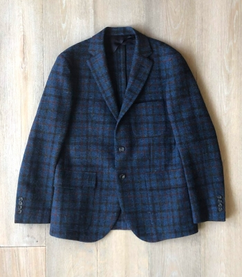 Dartmouth Jacket - Harris Tweed Made in USA | Ramblers Way