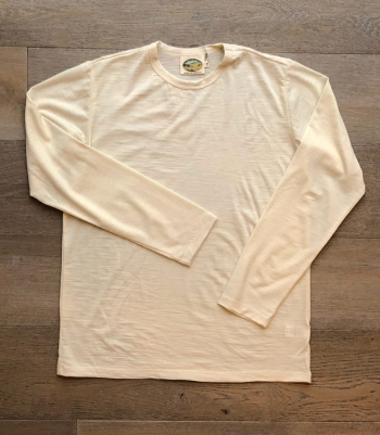 Wool Crew Neck LS 4.5 Oz Made in USA | Ramblers Way