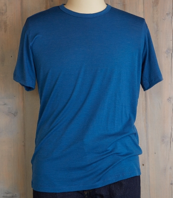 Men's Wool Crew Neck SS Made in USA | Ramblers Way