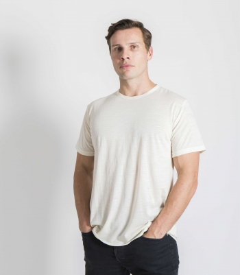 Wool Crew Neck SS 4.5 Oz Made in USA | Ramblers Way