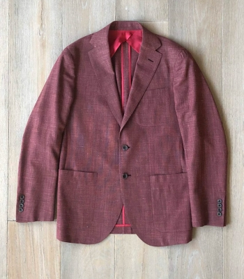 Dartmouth Jacket - Wool/Silk/Linen Blend Made in USA | RAMBLERS WAY