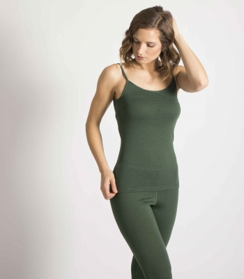 Organic Wool Camisole Made in USA | Ramblers Way