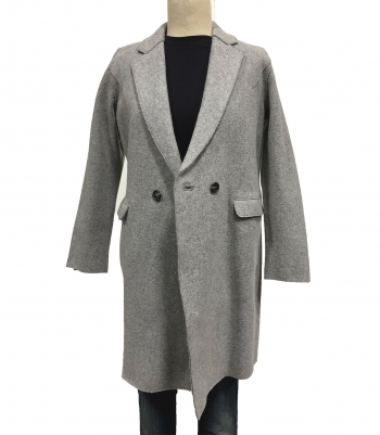 Wool Top Coat - Final Sale Made in USA | RAMBLERS WAY