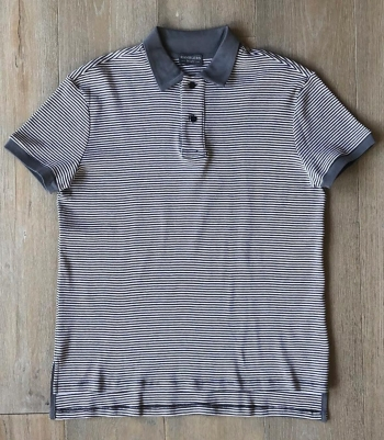 Cotton Rib Knit Polo SS Made in USA | Ramblers Way