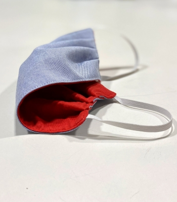 Oxford Cotton Mask Made in USA   Ramblers Way