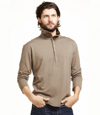 Wool 1/4 Button - FINAL SALE Made in USA | Ramblers Way