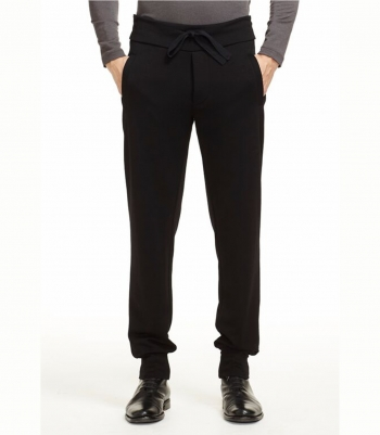 Men's Wool Tapered Sweat Pants Made in USA | Ramblers Way